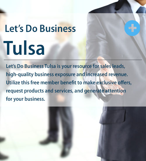 Let's Do Business Tulsa is your resource for sales leads, business exposure and increased revenue.